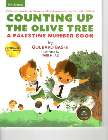 Counting Up the Olive Tree: A Palestine Number Book by Golbarg Bashi