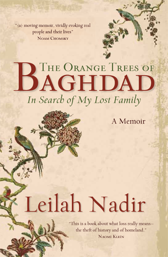 The Orange Trees of Baghdad by Leilah Nadir