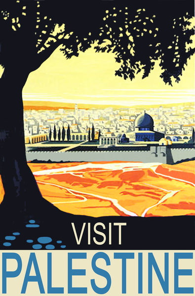 Quot Visit Palestine Quot Poster Middle East Books And More