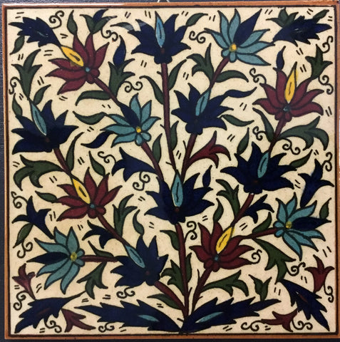 Flower Bush Tile