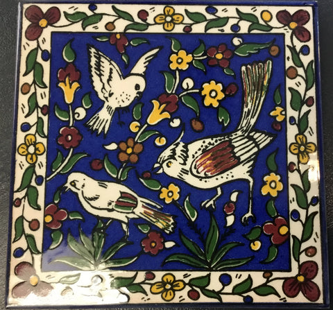 Blue Birds Tile