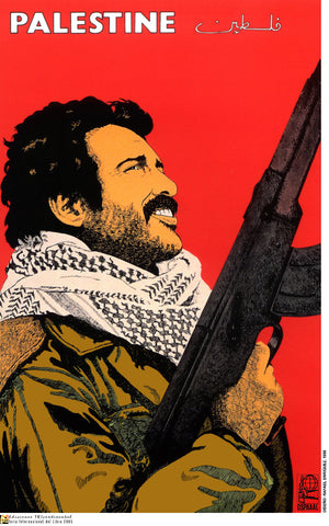 Day of Solidarity with Palestine Poster by Rafael Enriquez