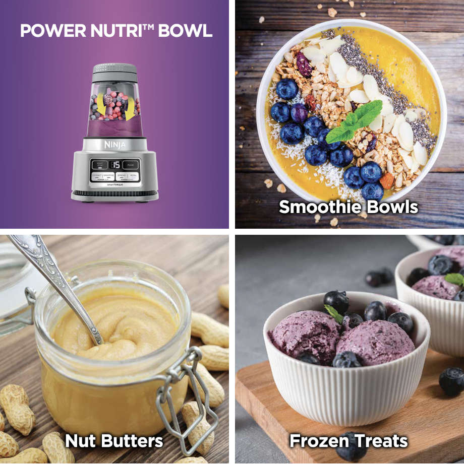 smoothie bowls, nut butters and frozen treats