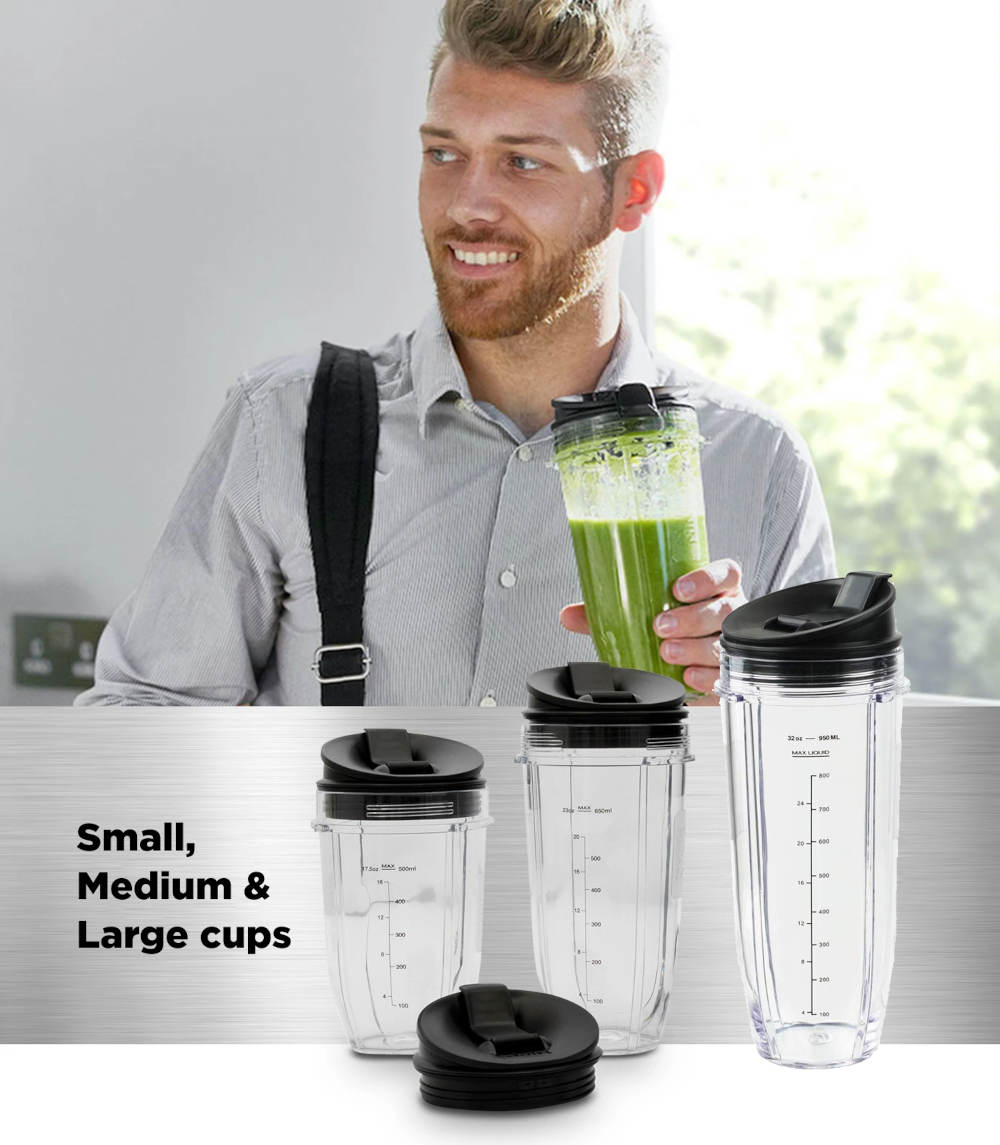 two sized cups