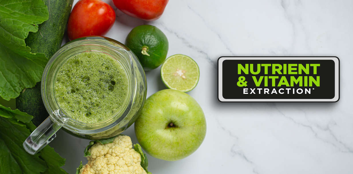nutrients extracted from fruits and vegetables