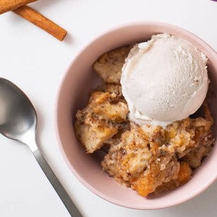 Coconut Bliss Bread Pudding
