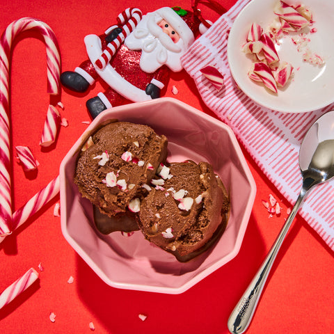 Mint Chocolate Candy Cane Ice Cream | Coconut Bliss