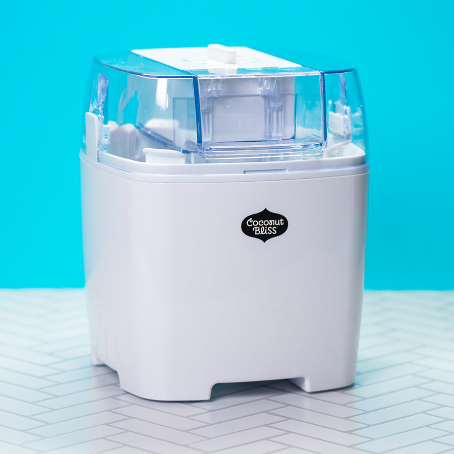 White Bliss Maker ice cream machine