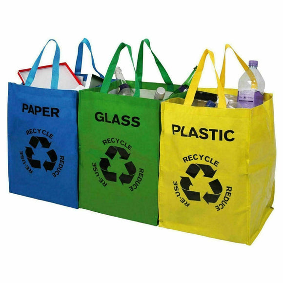 RECYCLE CARRY BAGS 3 PACK