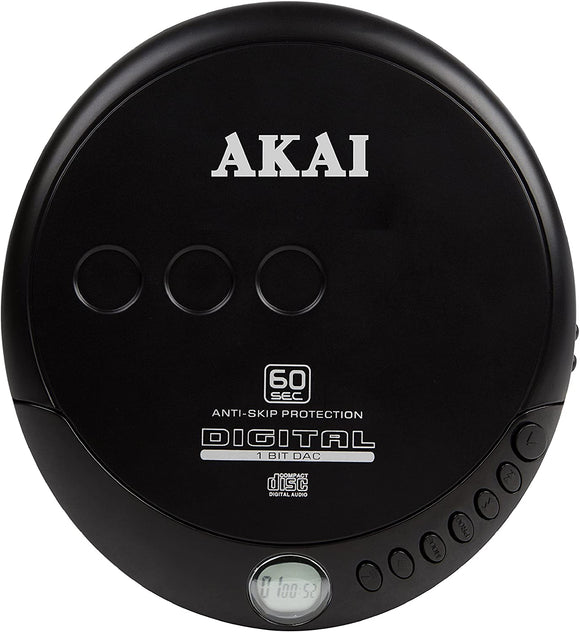 AKAI CLASSIC DISCMAN CD PORTABLE PLAYER
