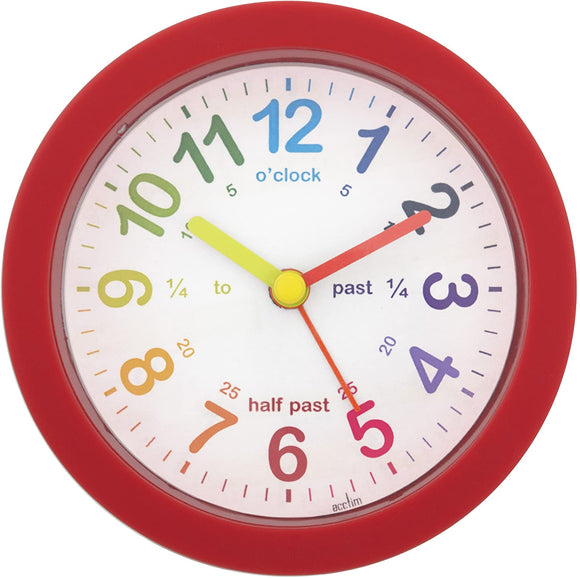 ACCTIM LULU RED TEACHING ALARM CLOCK