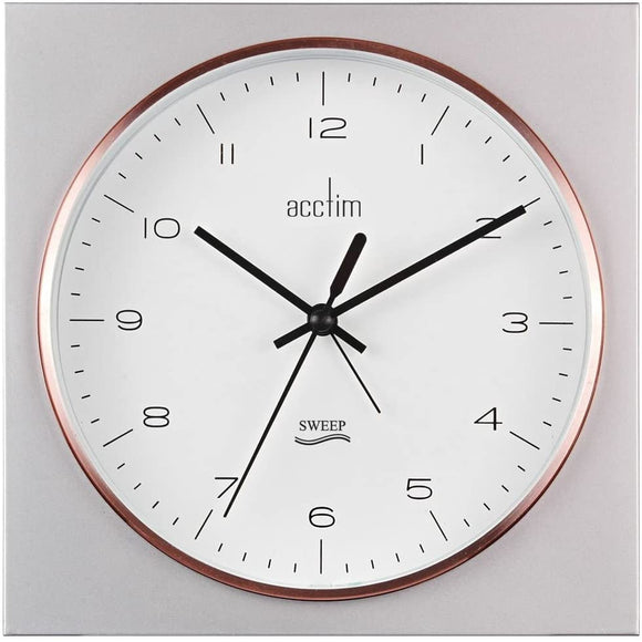 ACCTIM LUNZ ROSE GOLD CLOCK
