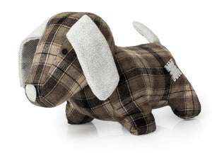 BLUE CANYON TARTAN OLLIE DOOR STOP