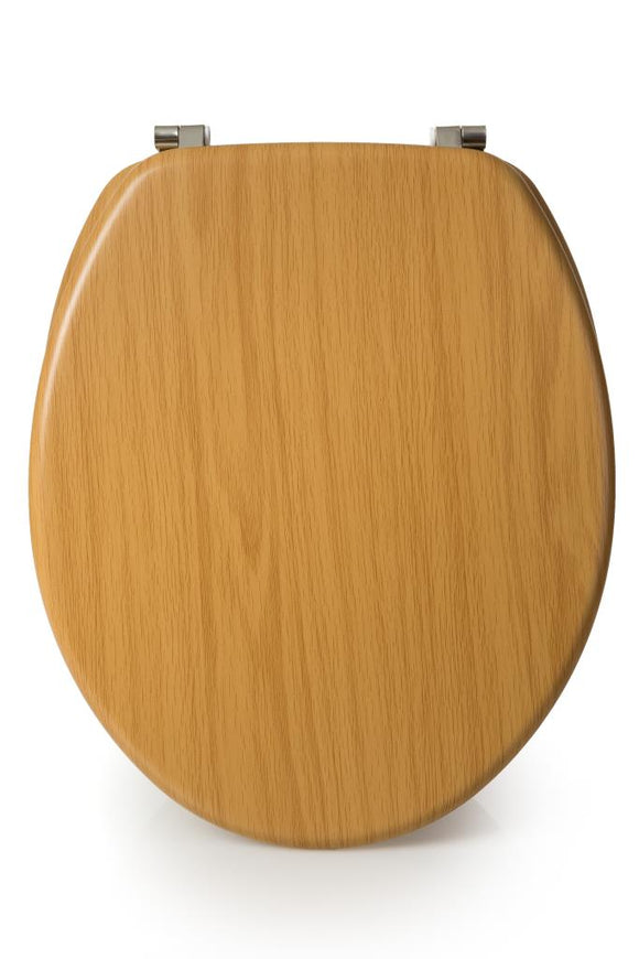BLUE CANYON HAMPTON BEECH WOODEN TOILET SEAT