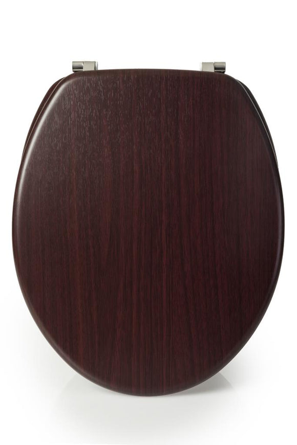 BLUE CANYON HAMPTON MAHOGANY WOODEN TOILET SEAT