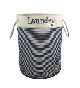 BLUE CANYON NAUTICA LAUNDRY HAMPER