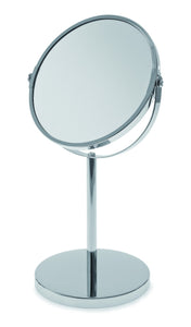 BLUE CANYON STAINLESS STEEL MIRROR WITH STAND