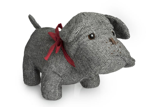 BLUE CANYON TWEED TOBY DOOR STOP