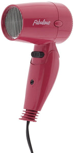 PINK FABULOUS COMPACT TRAVEL HAIR DRYER