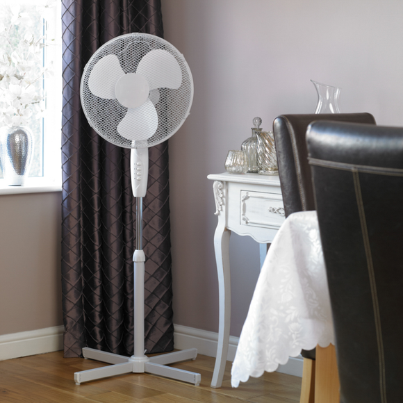 KINGFISHER LIMITLESS 16 INCH PEDESTAL FAN