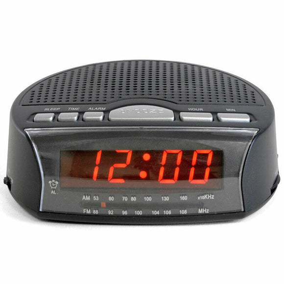 LLOYTRON AM/FM RADIO ALARM CLOCK