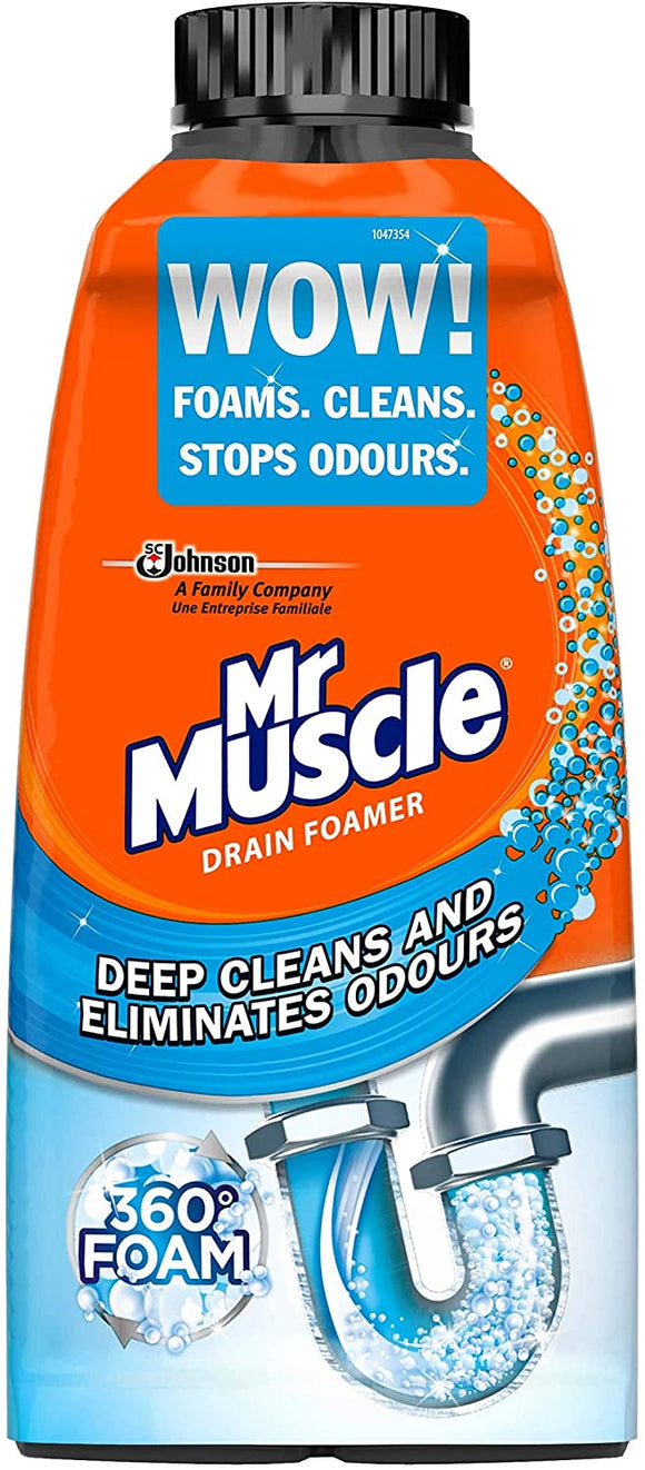 MR MUSCLE 500ML DRAIN FOAMER