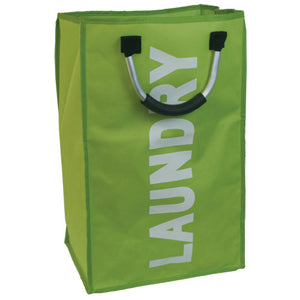 BLUE CANYON GREEN SINGLE LAUNDRY HAMPER