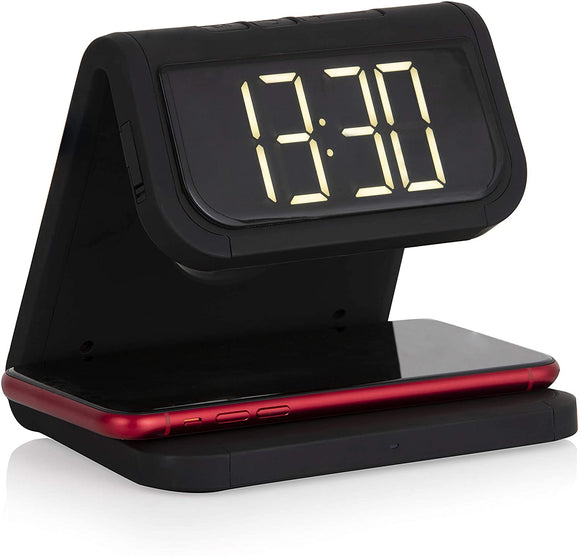 AKAI WIRELESS CHARGING ALARM CLOCK