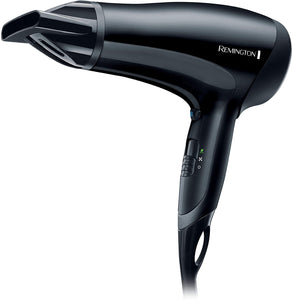 REMINGTON BLACK CERAMIC POWERDRY 2000W HAIRDRYER