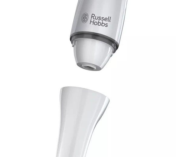 RUSSELL HOBBS WHITE KITCHEN HAND BLENDER