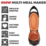 TOWER COMPACT NON-STICK BLACK MULTI MEAL MAKER