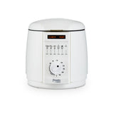 PRESTO BY TOWER WHITE COMPACT 1L DEEP FRYER