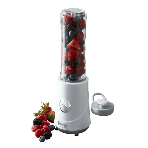 PRESTO BY TOWER 260W WHITE PERSONAL TABLE BLENDER