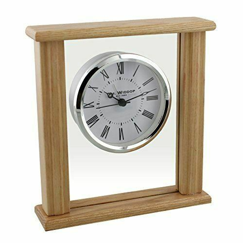 WIDDOP GLASS MANTEL CLOCK