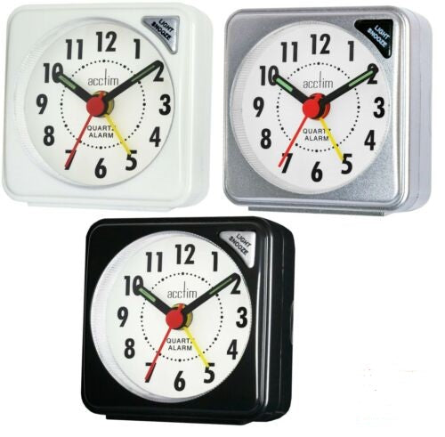 ACCTIM INGOT TRAVEL ALARM CLOCK