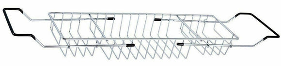 BLUE CANYON CHROME EXTENDABLE BATH RACK CADDY