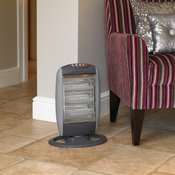 KINGFISHER LIMITLESS 1200W OCSILLATING HALOGEN HEATER