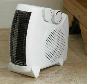 KINGFISHER LIMITLESS 2000W UPRIGHT FLAT FAN HEATER