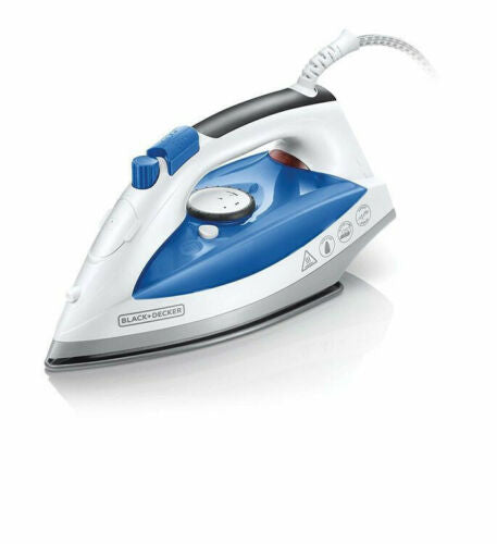 BLACK & DECKER BLUE 2200W STEAM IRON
