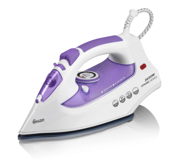 SWAN 2600W PURPLE STEAM IRON
