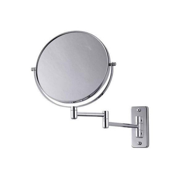 BLUE CANYON CHROME SWIVEL EXTENDING WALL SHAVING MIRROR