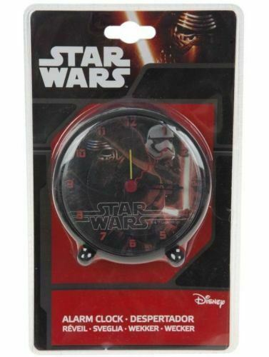 DISNEY STAR WARS CHILDREN'S ALARM CLOCK