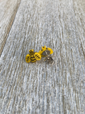 Tiny Bee Earring Bee Gift