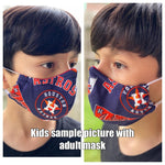 Adult Houston Astros face mask