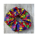 Puzzle Piece Scrunchie Autism Awareness