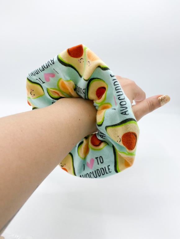 Avocado Scrunchie Avocado hair tie