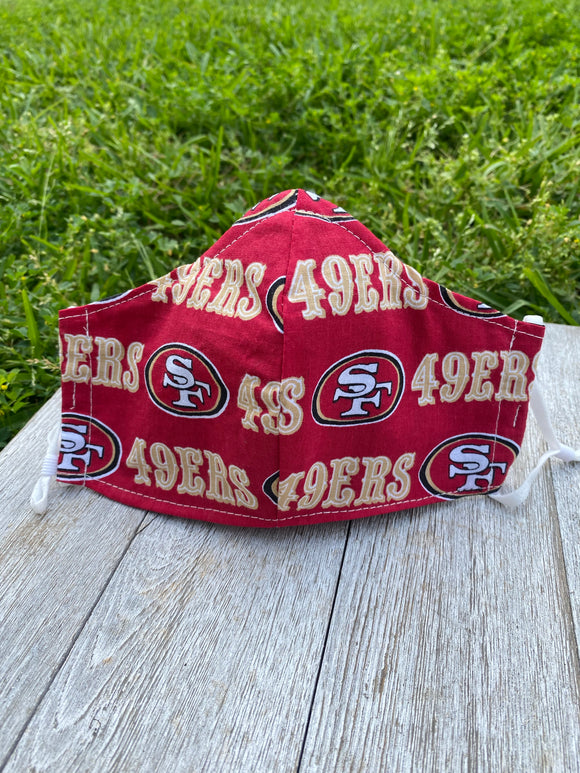 San Francisco 49ers Adult Face Mask
