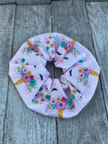 Oversized Unicorn Scrunchie Unicorn Hair tie Unicorn kids gift