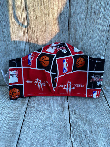 Adult Houston Rockets Face Mask Houston Rockets Gift