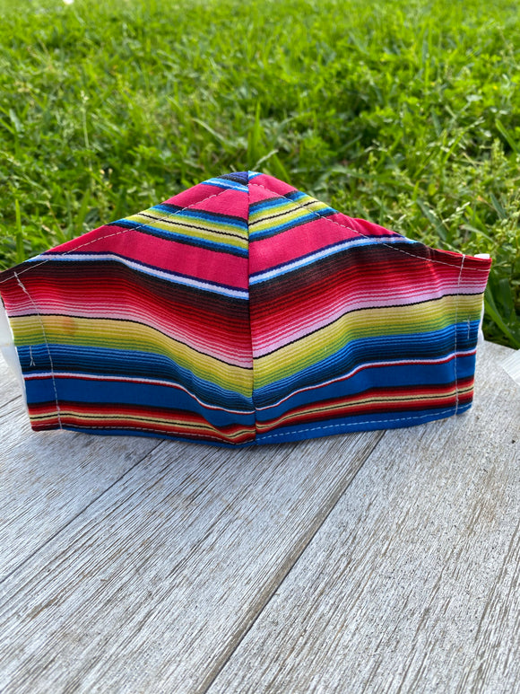 Serape Adult Face Mask